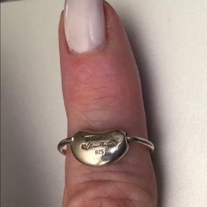 Tiffany Elisa Peretti Bean Ring sterling silver